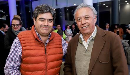 Francisco Leos y Carlos Díaz de León.