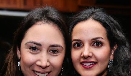 Fernanda Garza y Yolanda Aguillón.