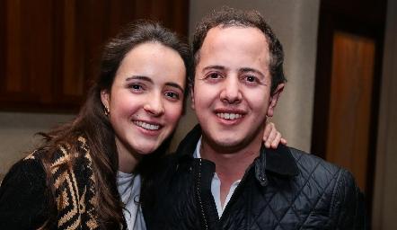 María Cueli y Santiago Aguillón.