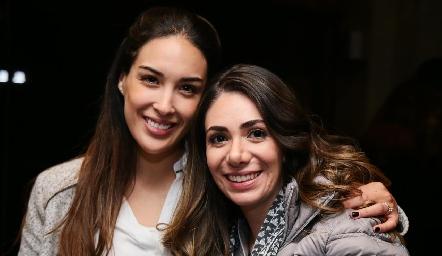 Sofía Delgadillo y Andrea Lorca.