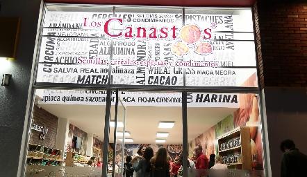 Inauguración de Los Canastos.