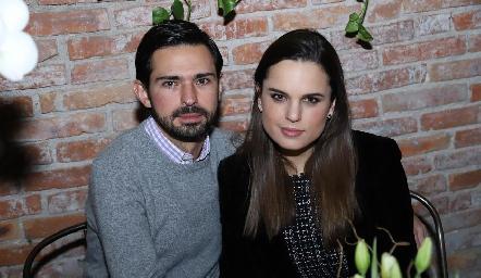 Andrés Allende y Mayte Soberón.