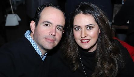 Alán Ávila y Marcela Zapata.