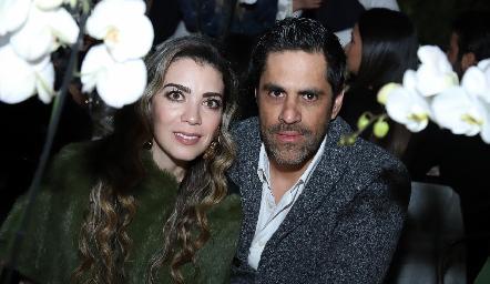 Martha Gaviño y Gonzalo Dávila.