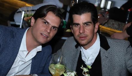 Juan Carlos y Alejandro Valladares.