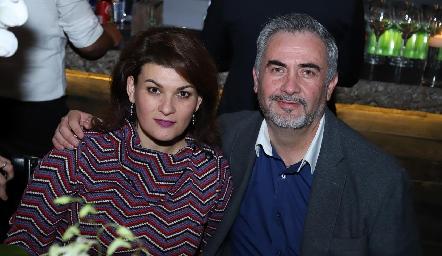 Isabel Guzmán y Jorge Mauricio.
