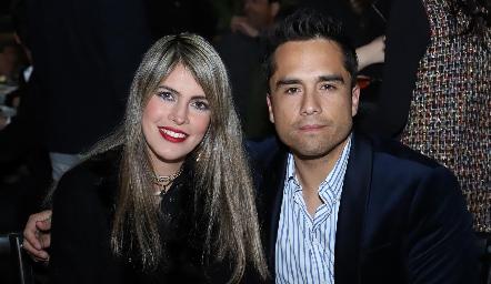 Mariana Berrones y Ricardo Cordero.
