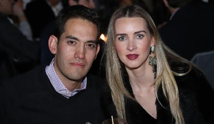 Ricardo Torres y Daniela Borbolla.
