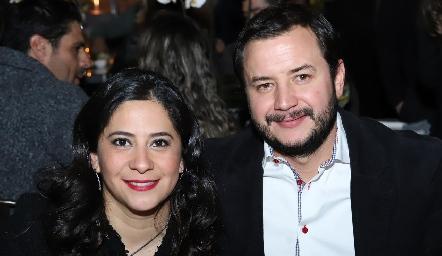 Daniela Alfaro y Andrés Benavente.