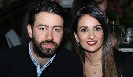 Ferrán Monsech y Mariana Salazar.