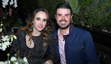 Ángeles Mahbub y Santiago Labastida.