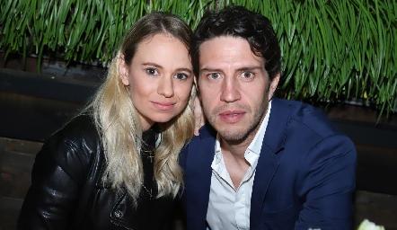 Paulina López y Alejandro Lomelí.