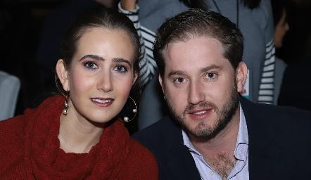 Lucía Martín Alba y Pablo Torres.
