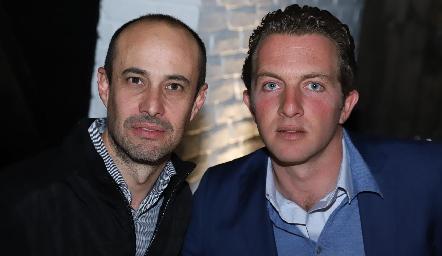Alejandro Gutiérrez y Jorge Hernández.