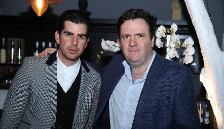 Alejandro Valladares y Pepe Martínez.
