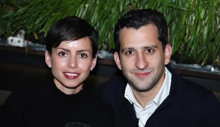 Mariana Haro y José Reynoso.