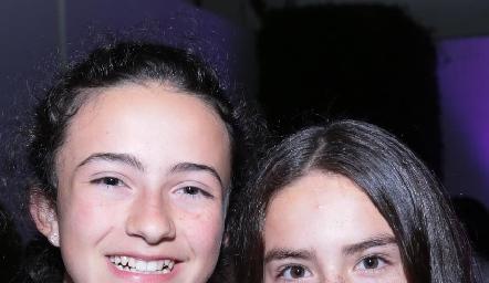 Montse Estrada y Zaza Vázquez.