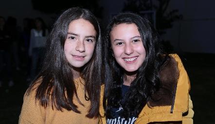 Zaza Vázquez e Isa Sánchez.