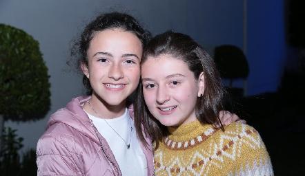 Montse Estrada e Isa Villalobos.