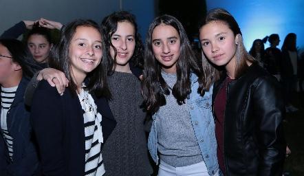 Montse Kemp, Dany López, María Mares y Alexa Heinze.
