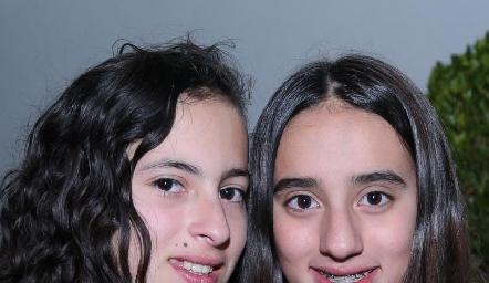 Dany López y María Mares.