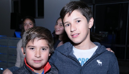 Marcelo Villarreal y Lalo Nieto.