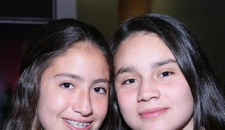 Ana Pau Jiménez y Natalia Téllez.