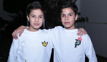 Santiago Chevaile y Sebastián Leos.