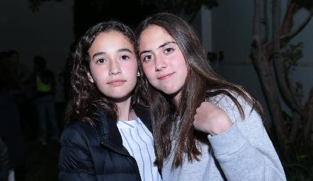 Sofía Garza y María de la Torre.