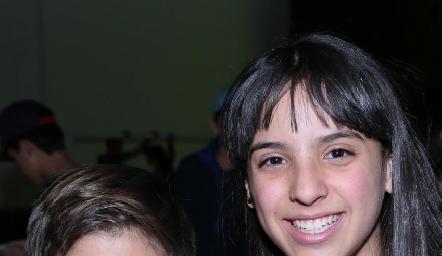 Marcelo y Lucciana.