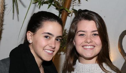 Irene Abud e Isa Valle.