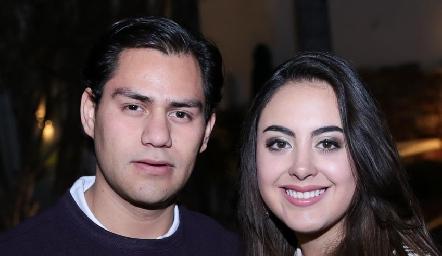 Joel González y Paulina Gómez.