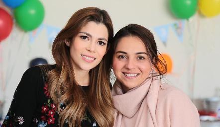 Imelda Martínez y Daniela Mézquida.
