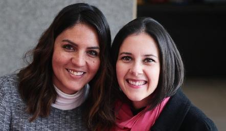 Alejandra Aguilera y María Vargas.