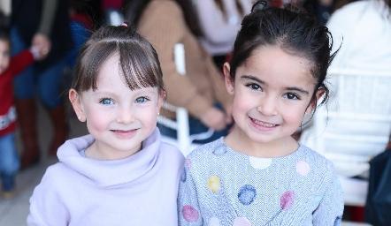 Catalina y Marce.