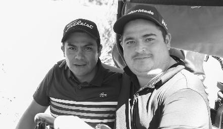 Edgar Hernández y Eduardo Gouyonnet.