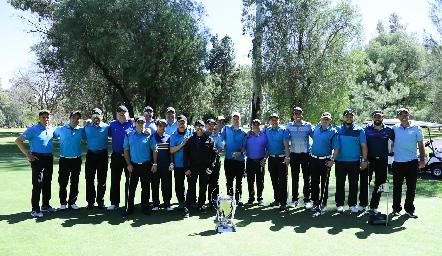 Jugadores de La Loma Club del Golf.