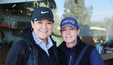 Patricia Gómez y Alma Rosa Orozco.