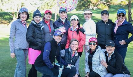 Torneo de Golf para celebrar el cumpleaños de Olesia Schevchenko.