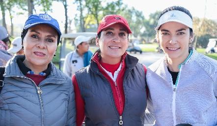 Paty González, Blanca Cantú y Mariana Palazuelos.