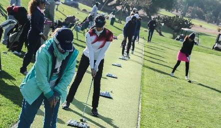 Torneo de Golf entre amigas.