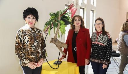 Lucy Stahl, Marilú de Paredes y Tere Cuesta.