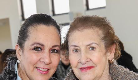 Lila de Zamanillo y Lila de González Ramírez.
