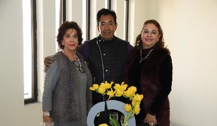 Lucero Rosillo de Lobo, Eleazar Escobar y Silva de Garza.