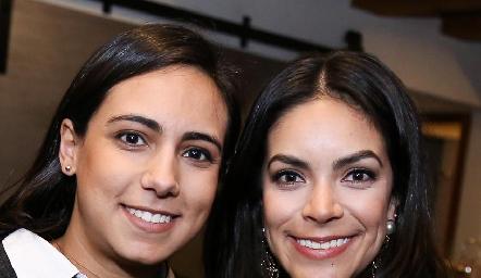 María Berrueta y Ana Rodríguez.