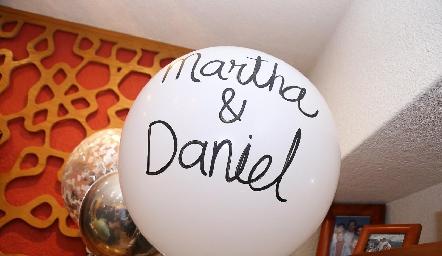 Martha y Daniel.