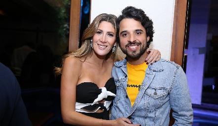 Martha de la Rosa y Samuel Romo.
