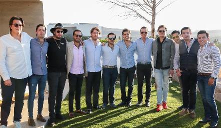 Javier Herrera, José Antonio Martínez, Pato Lozano, Rodrigo Alcalde, Andrés Aguirre, Mauricio Mahbub, Gabriel Torres, Frank Villanueva, Pablo Herrera, José Antonio Alonso, Rodolfo Ortega y Lisandro Bravo.