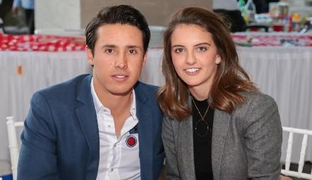 José María Díaz Infante y Melissa Meade.