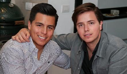 Lisandro Bravo y Pablo Herrera.